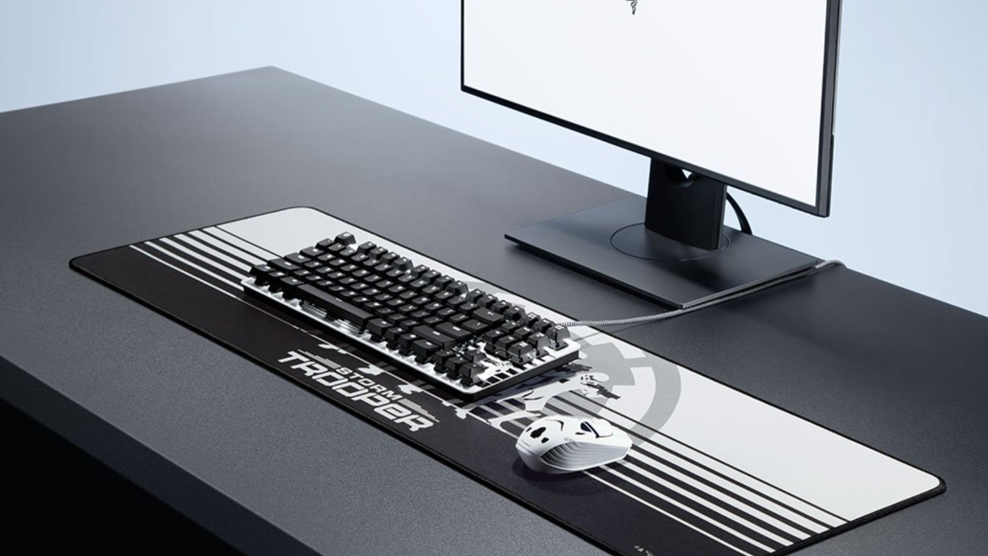 Razer's Valentine's sale includes a 31% discount on a stormtrooper keyboard