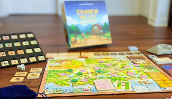 A snapshot of the new Stardew Valley board game