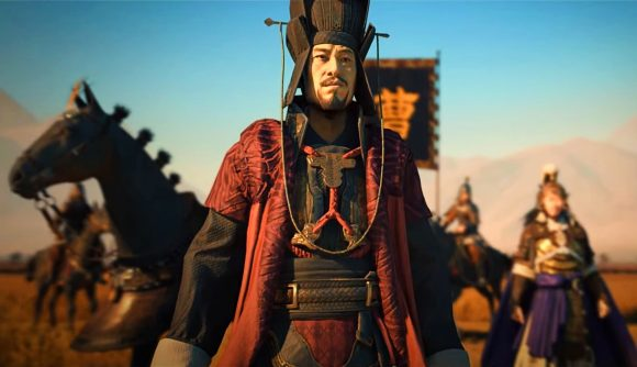 A famous Chinese warlord in Total War: Three Kingdoms
