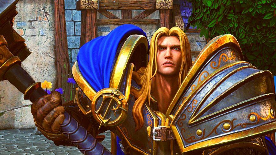 Warcraft 3 Reforged cutscene