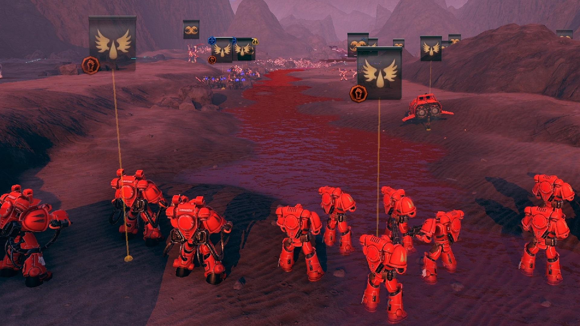 New Warhammer 40K strategy game Battlesector announced, due this year