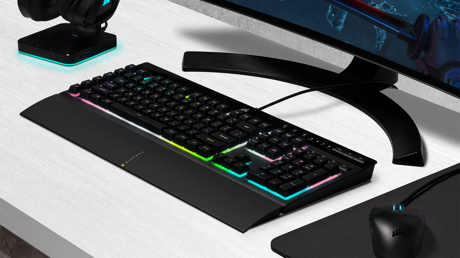 Corsair K55 RGB Pro XT review – too much for membrane