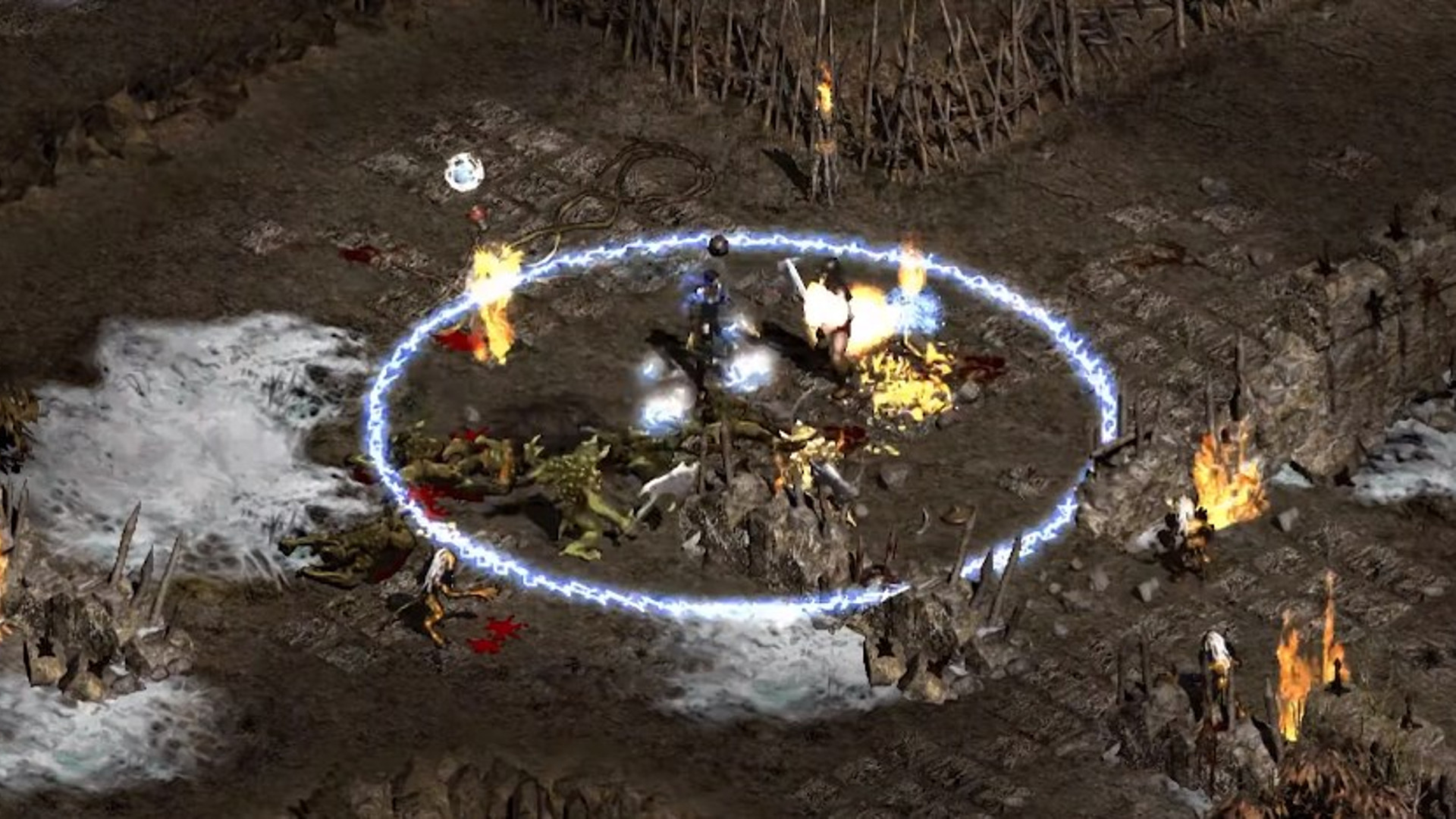 Diablo 2 fan remake's second season is live, adding a new dungeon, and changing PvP
