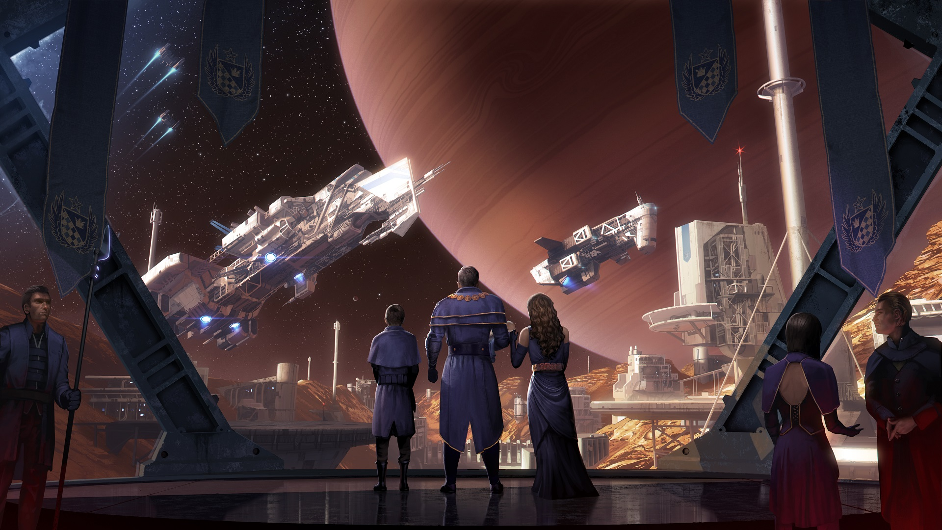 Star Dynasties is Crusader Kings in space, and it's coming to Steam Early Access