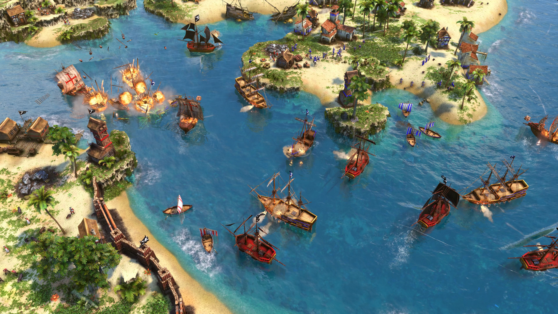 New Age of Empires 3 DE patch overhauls modding and takes away Portugal's cows