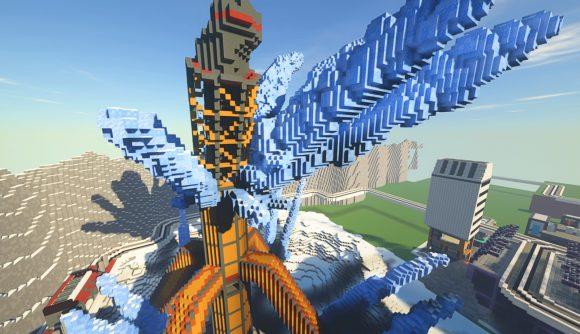 Apex Legends' World's Edge map recreated in Minecraft