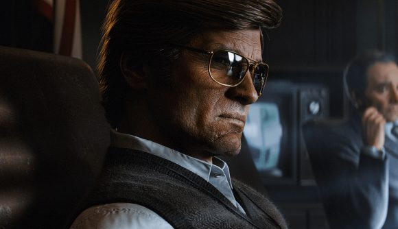 A man from the '80's in Call of Duty: Black Ops - Cold War