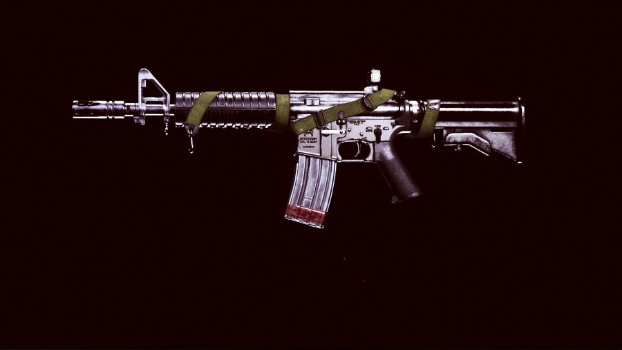 The stock XM4 assault rifle from Black Ops Cold War in Warzone