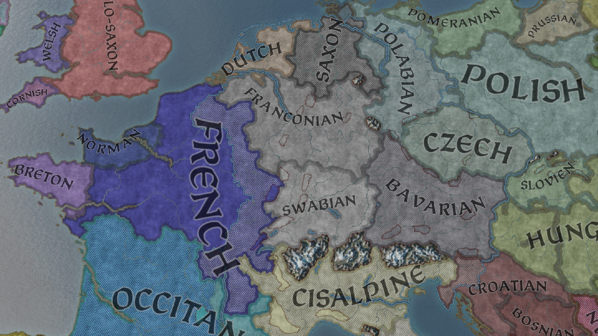 A Crusader Kings 3 speedrunner converts the world to one culture in just 44 years