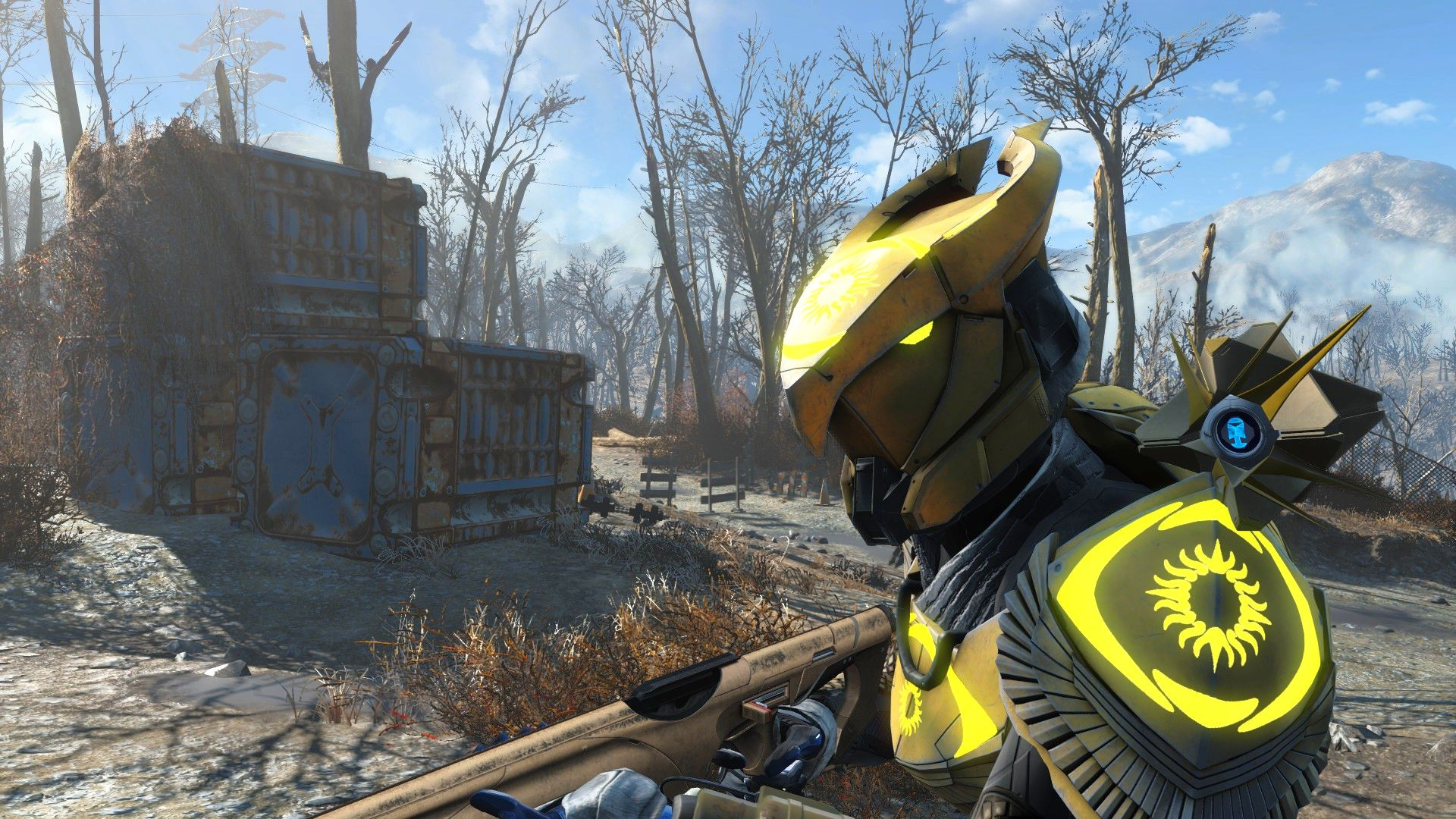This Fallout 4 mod gives you a Destiny 2-style ghost