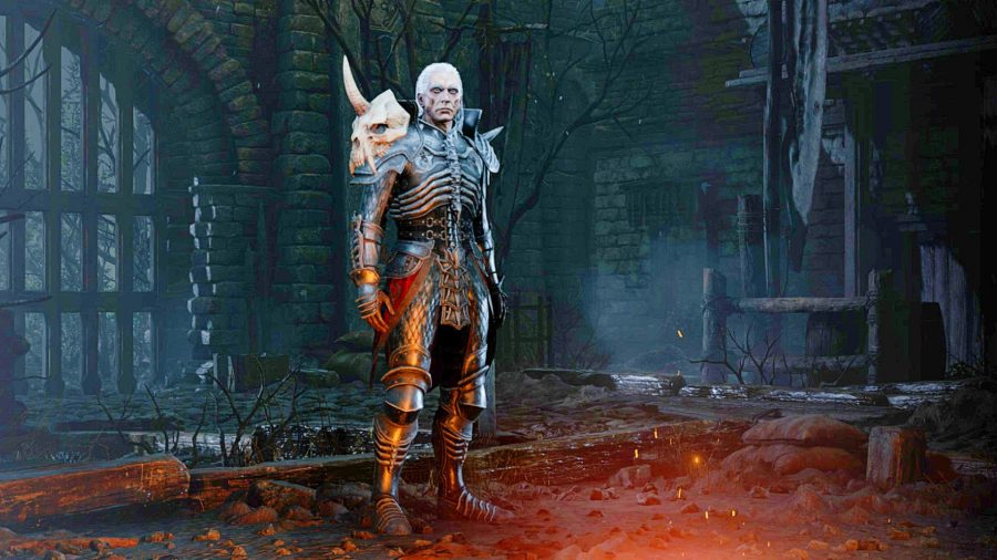 Necromancer class in Diablo 2 Resurrected