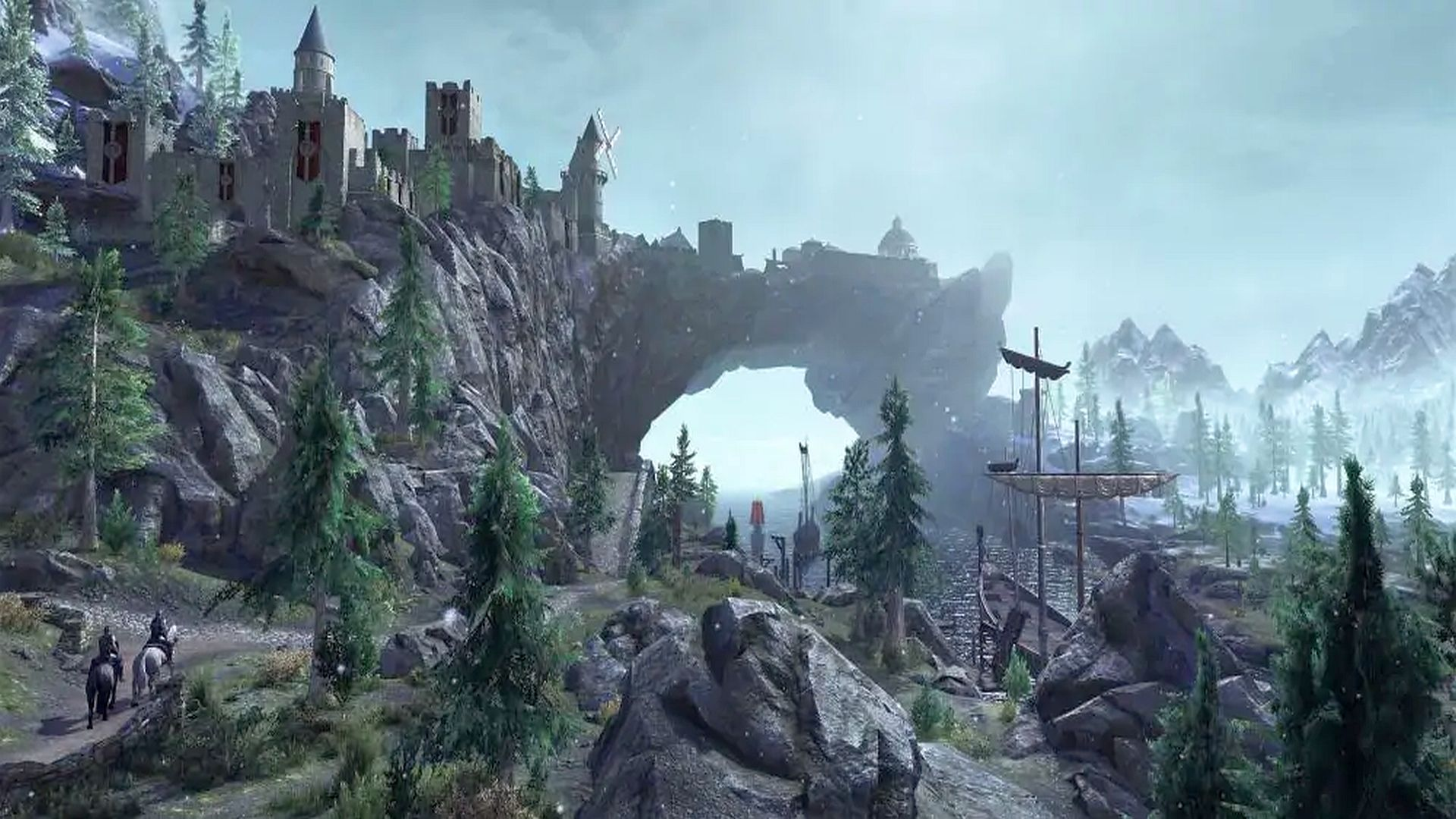 A Skyrim fan has recreated Solitude in Far Cry 5 and it's gorgeous