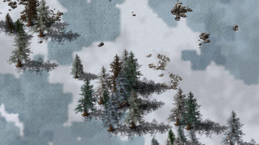 Snowy Biome in een factor