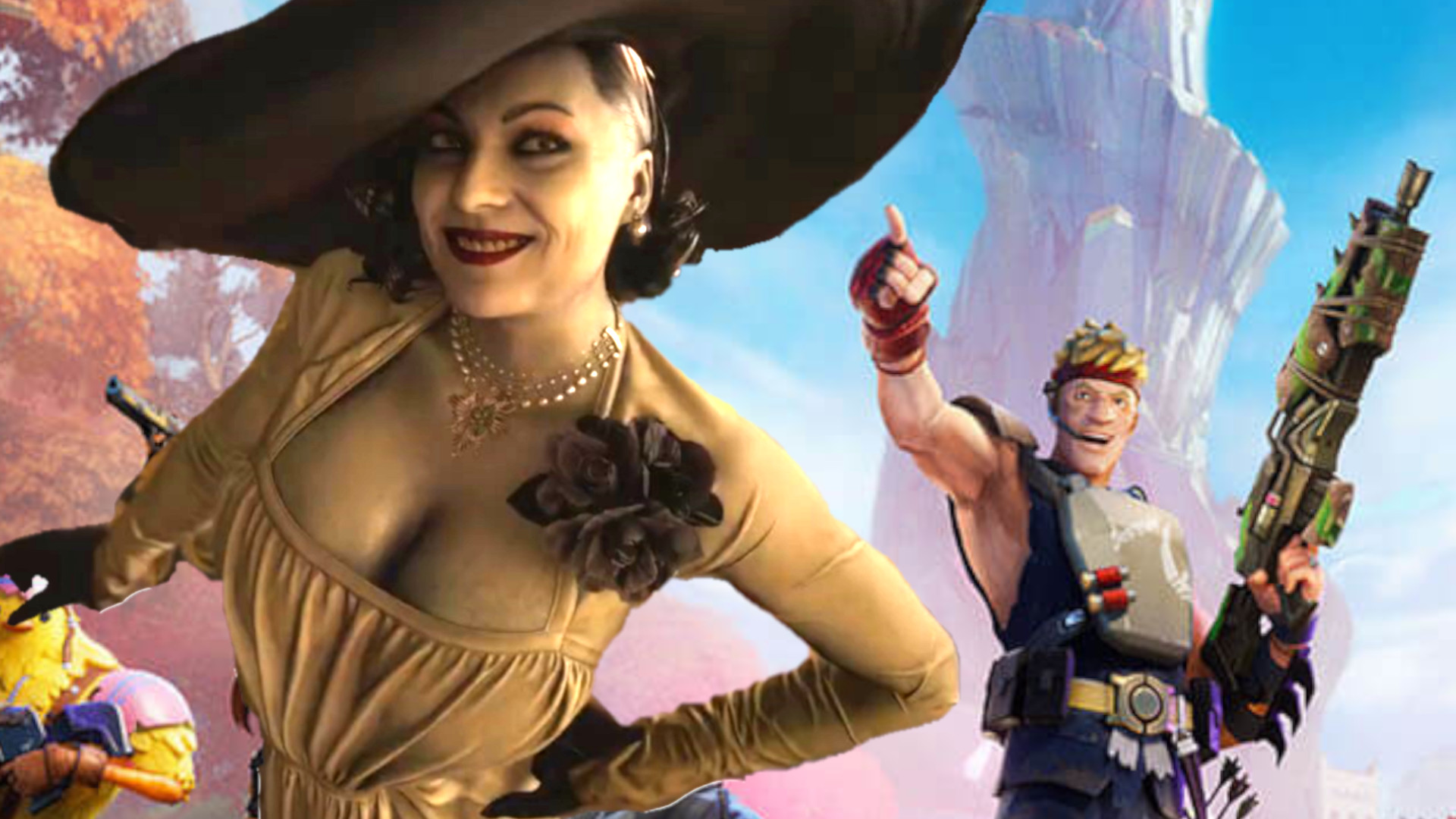 Fortnite devs gauge interest in Lady Dimitrescu