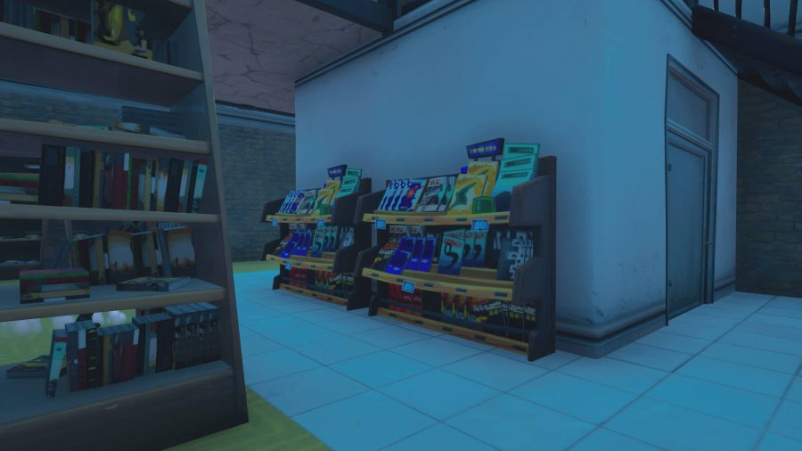 One of the five literature samples in Fortnite. It's location is the bookshop in Retail Row.