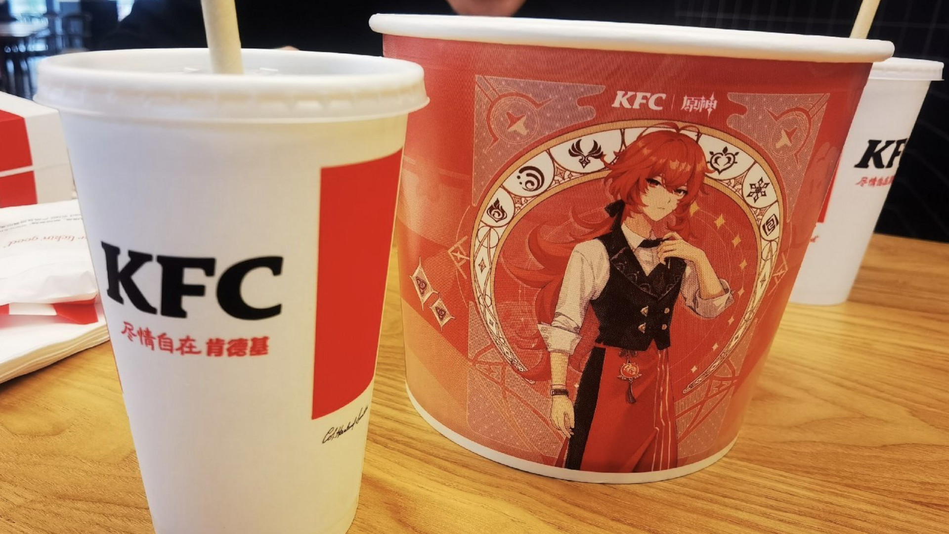 Genshin Impact event asks players to shout at KFC employees for pins
