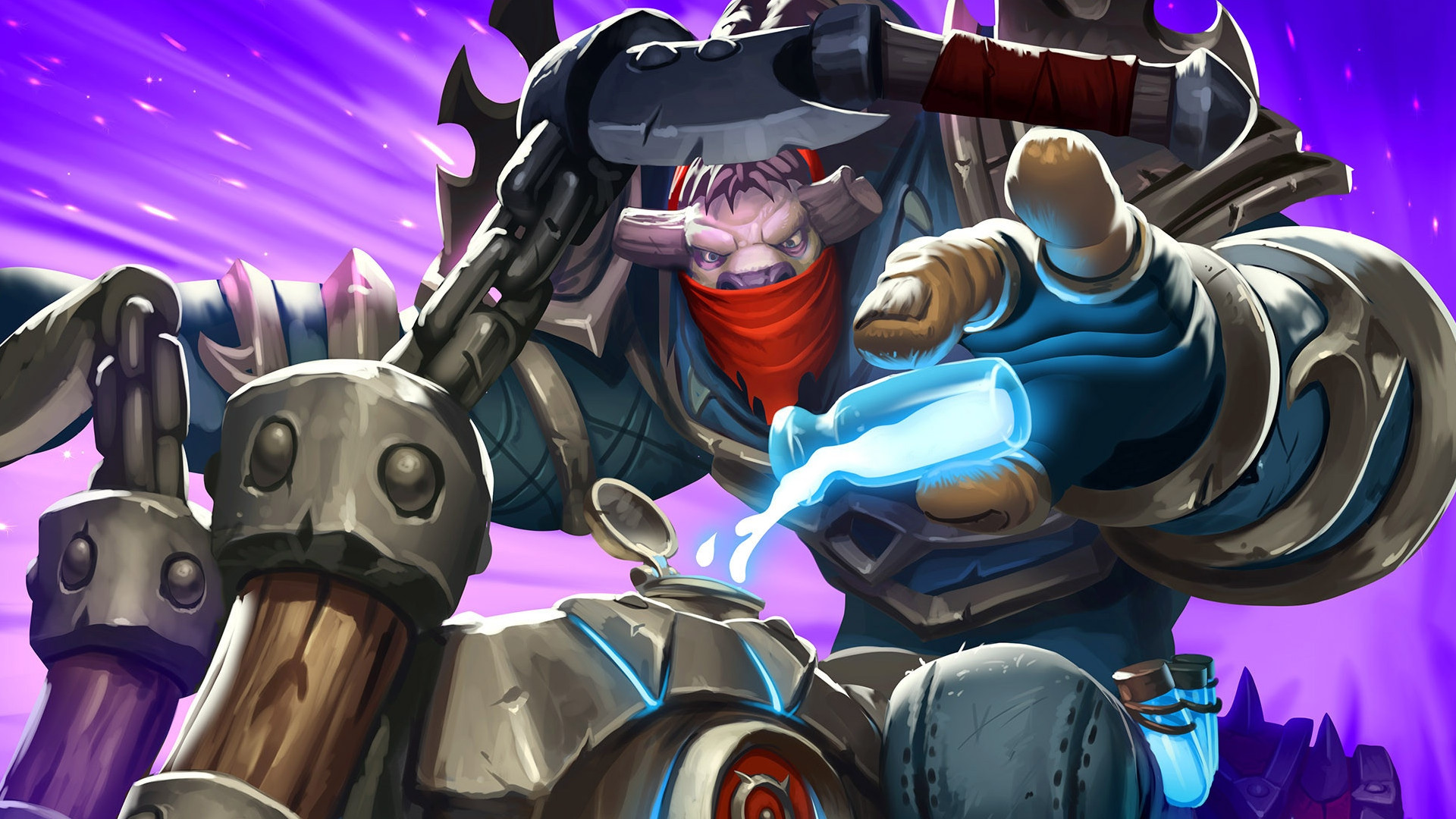 Hearthstone gets one permanent nerf, and 36 temporary unnerfs