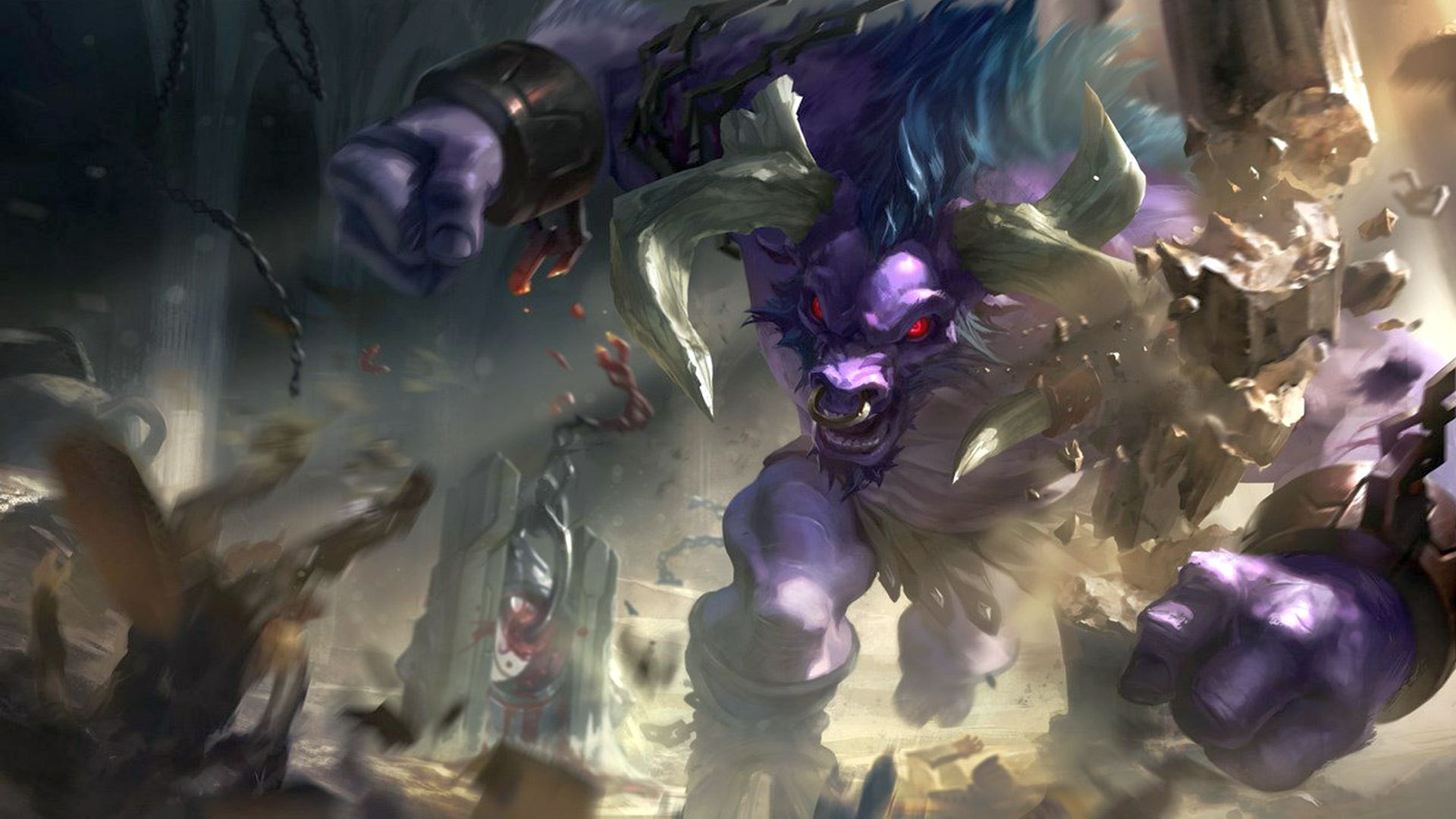 League of Legends' Alistar gets nerfs, Braum and Kindred get buffs next patch