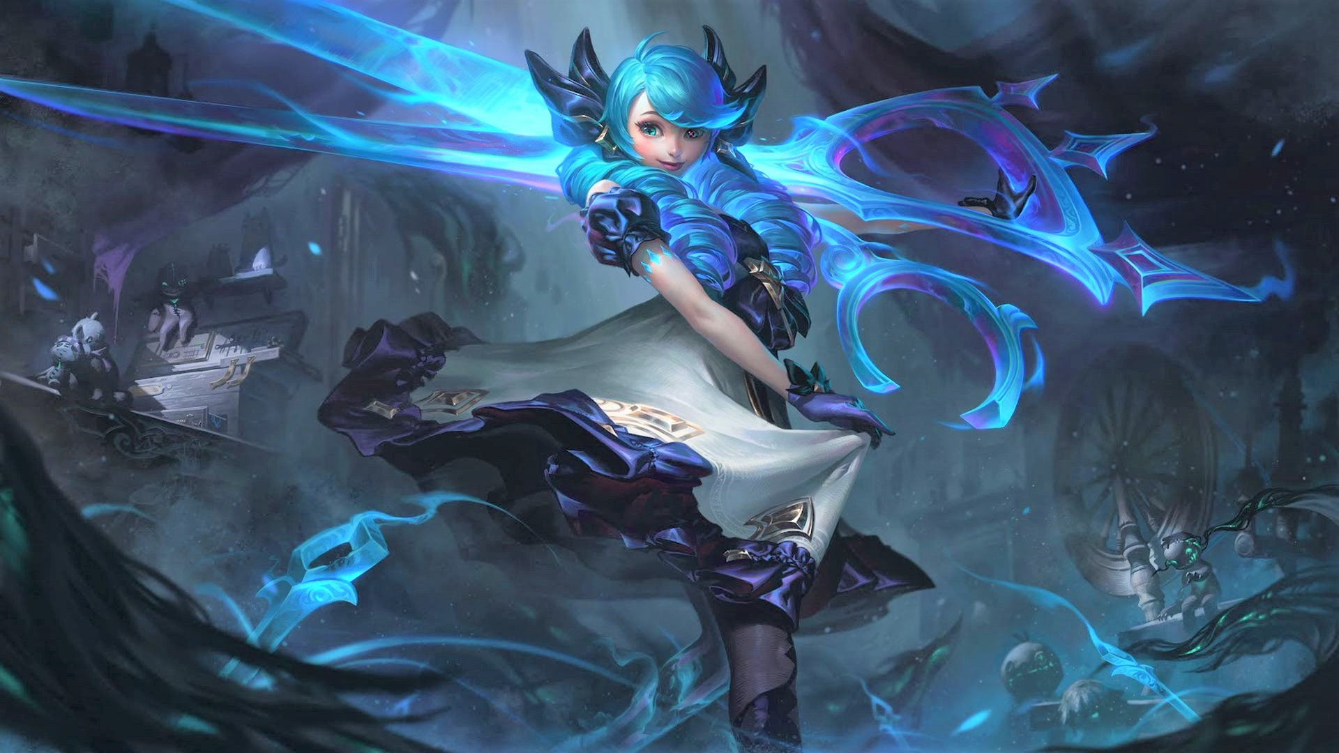 League of Legends patch 11.8 notes – New Champion Gwen, Dragonslayer, Blackfrost skins