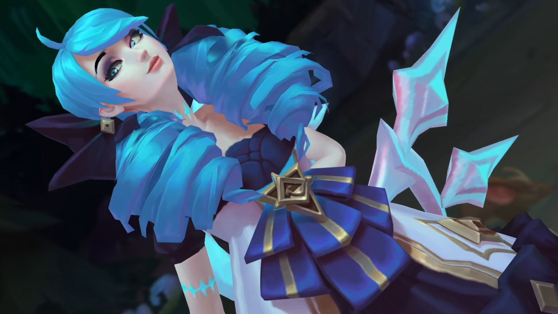 League of Legends' new champion is Gwen, and she's a creepy living doll