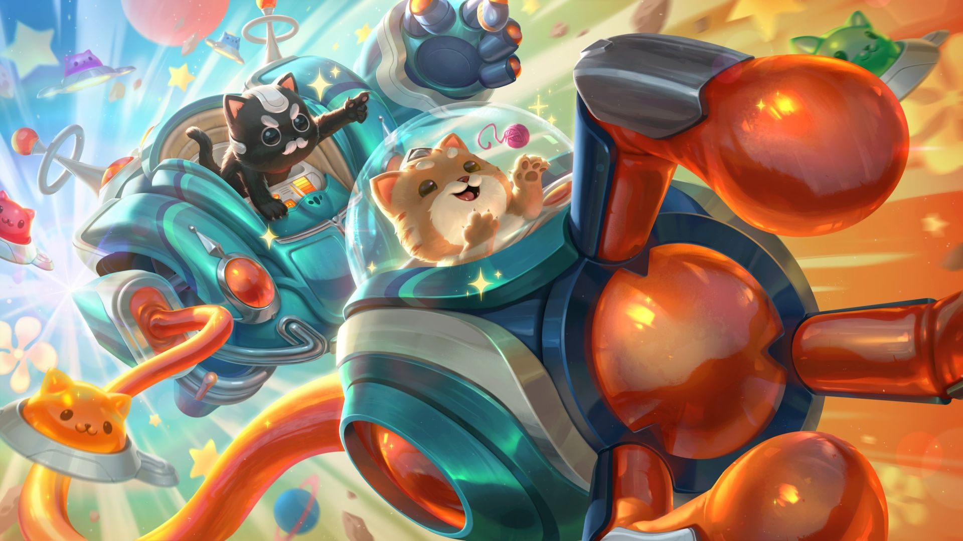 League of Legends patch 11.7 notes – Space Groove skins, One for All