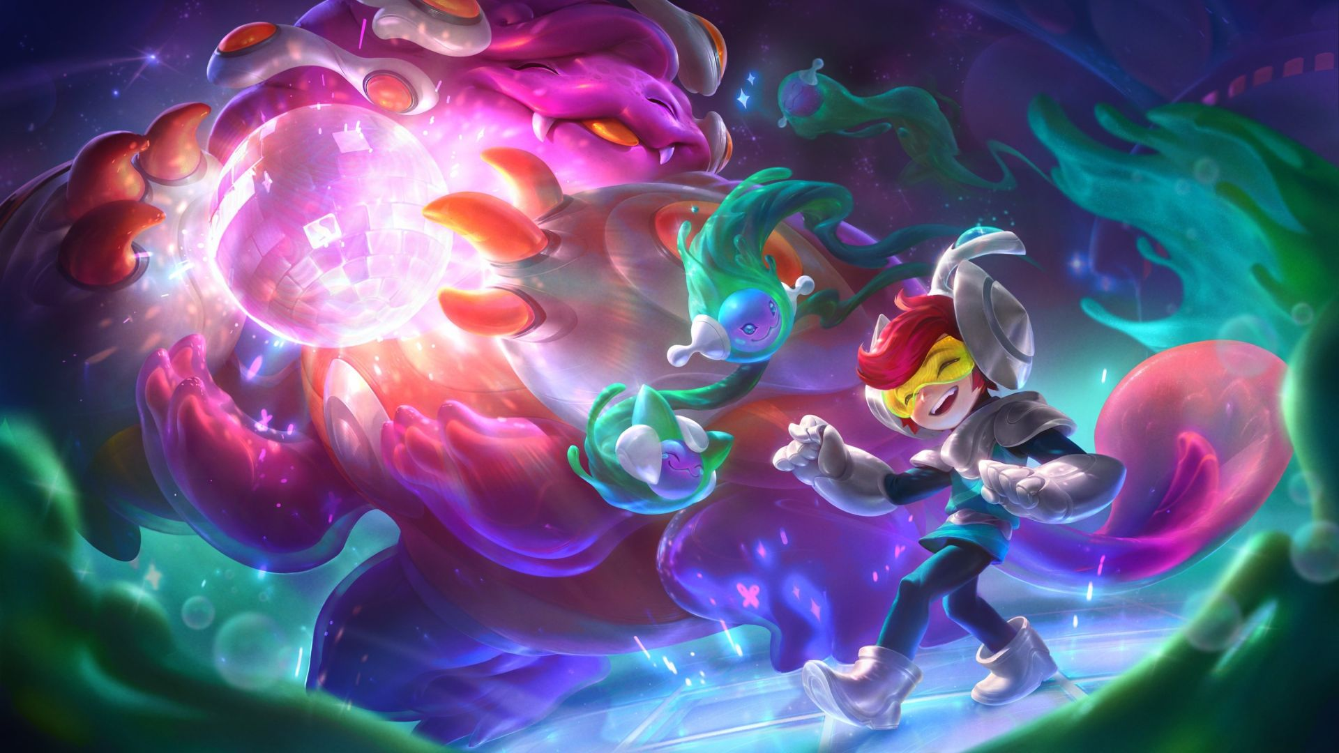 League of Legends gets new Space Groove thematic next patch
