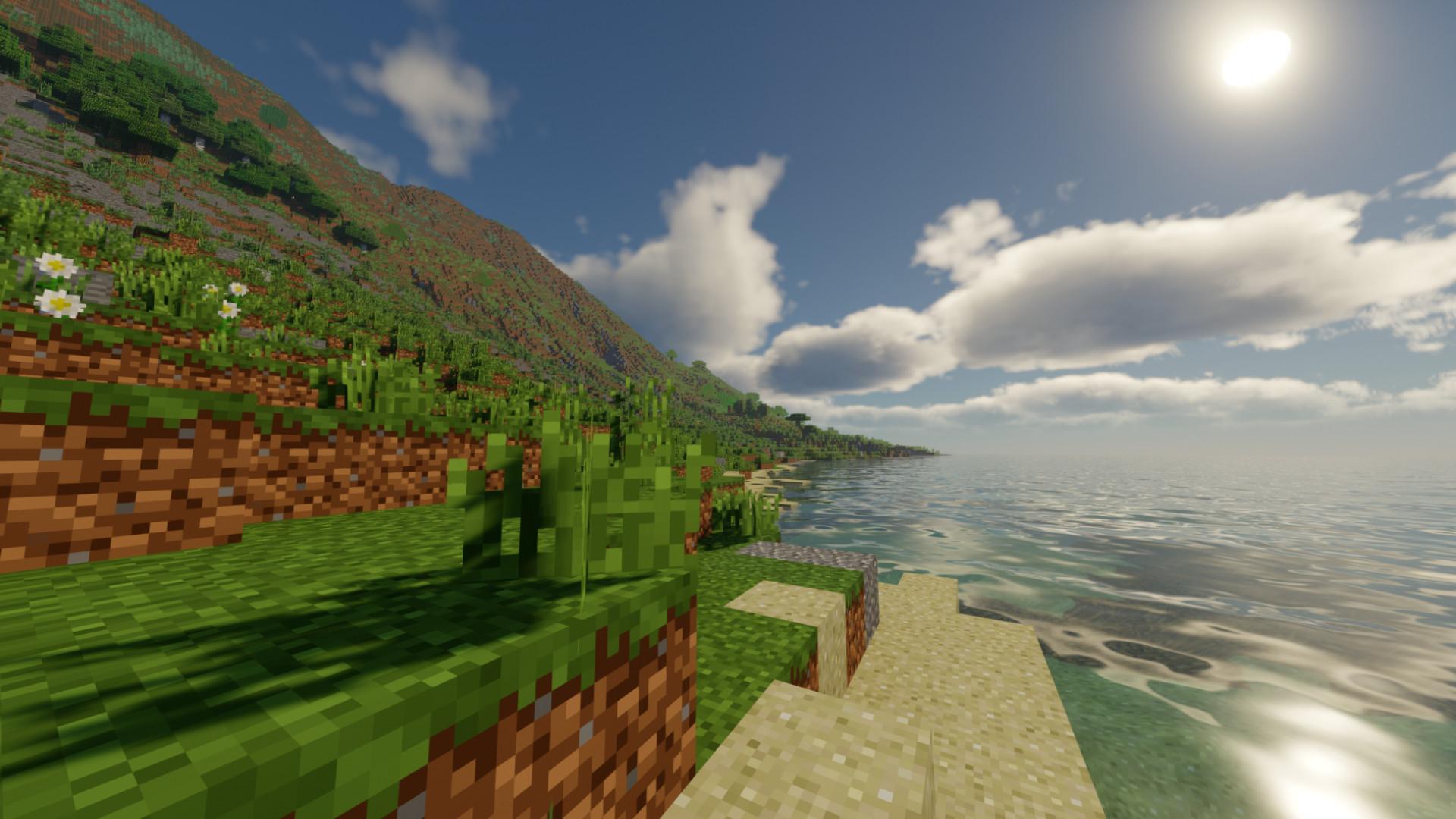 Minecraft player uses NASA data to create a 1:45 scale Hawaiian Islands map