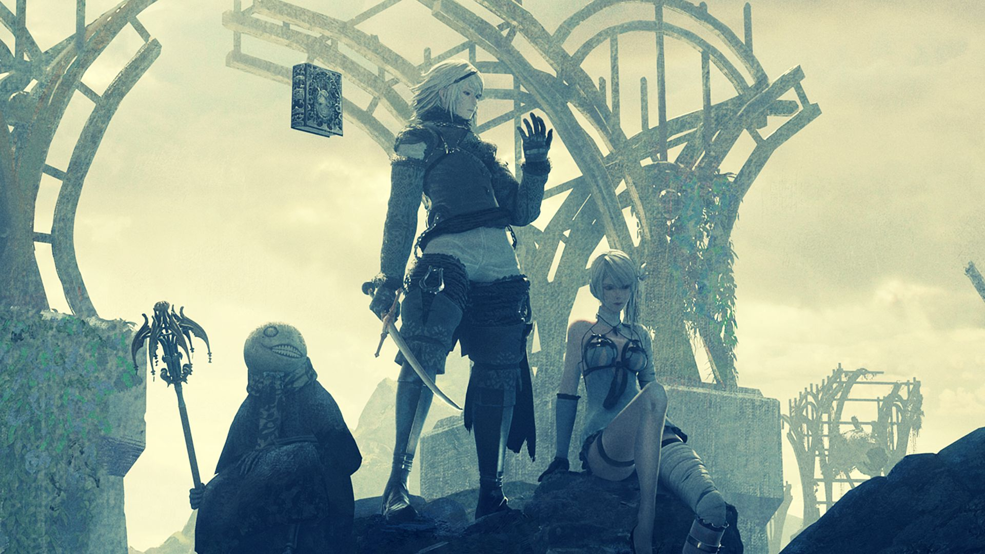 Nier Replicant is a curious throwback to a bygone era