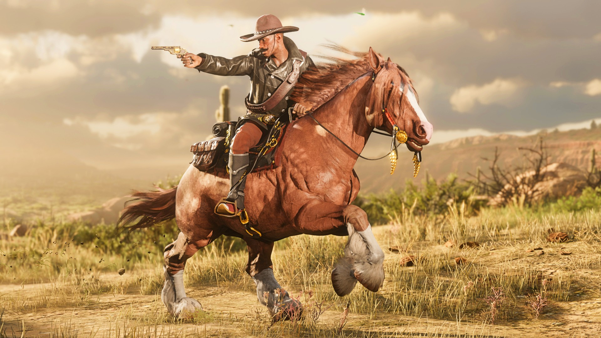 Red Dead Online's weekly update ups rewards on Land of Opportunities missions