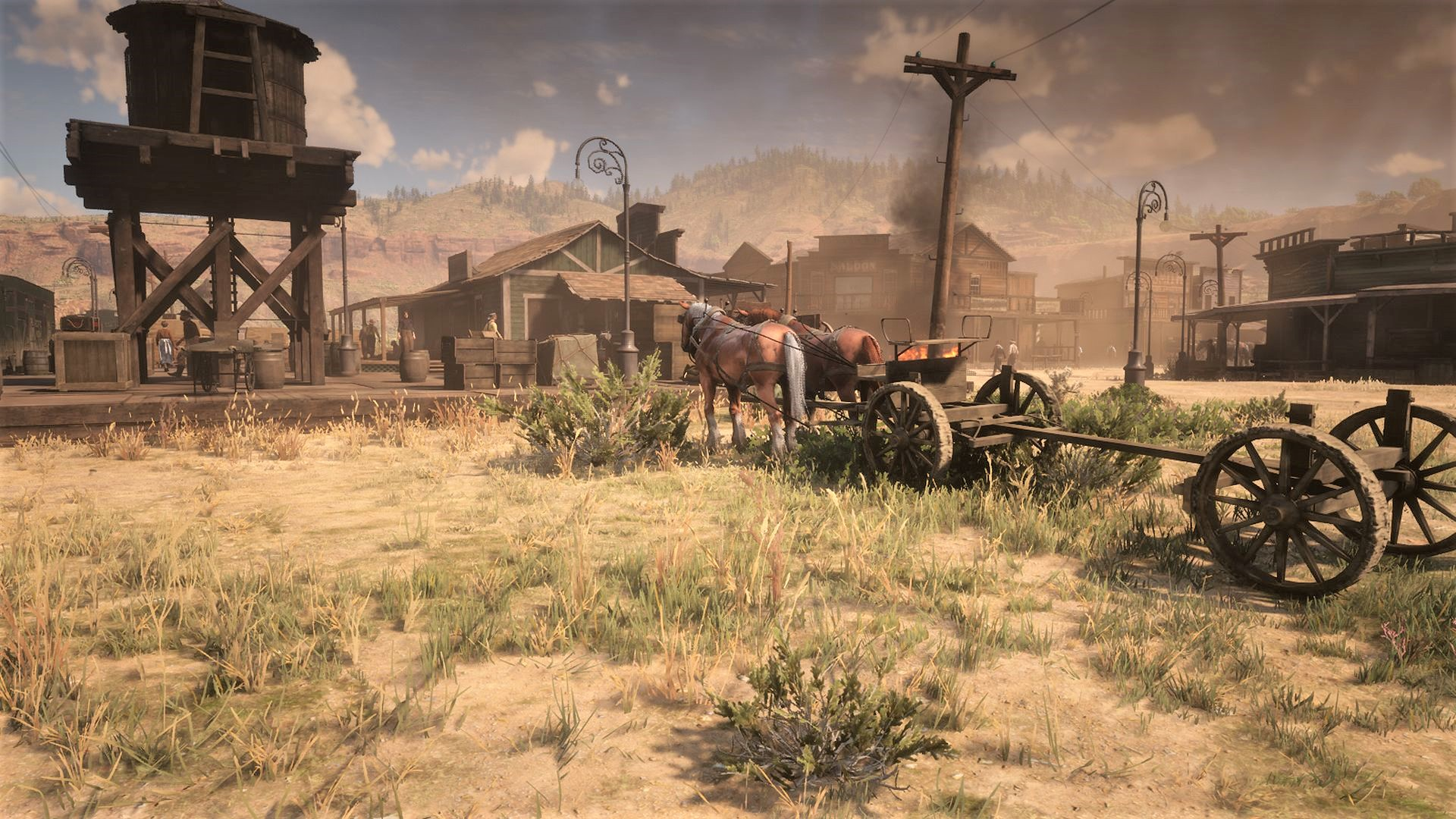 A Red Dead Redemption 2 modder has restored Armadillo to its future glory