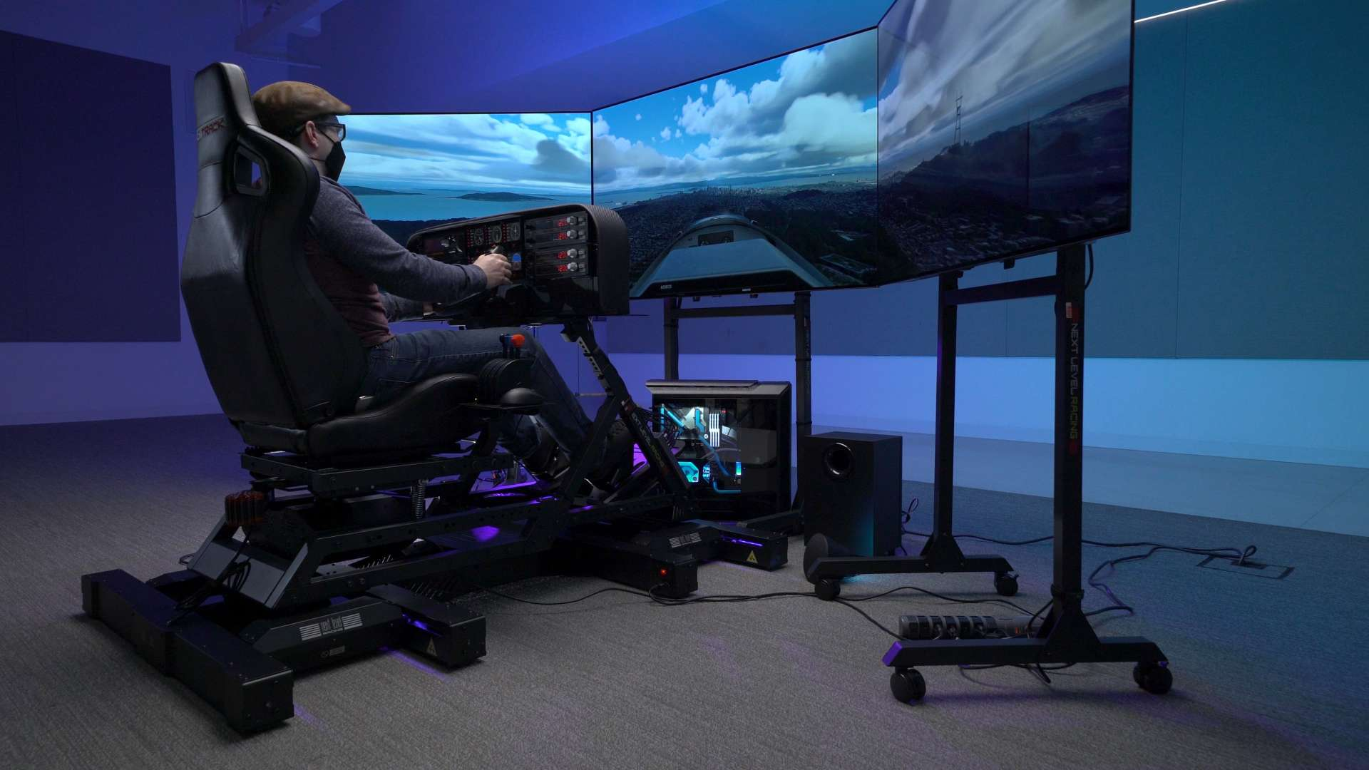 This RTX 3080-powered Microsoft Flight Simulator rig is the ultimate sim setup