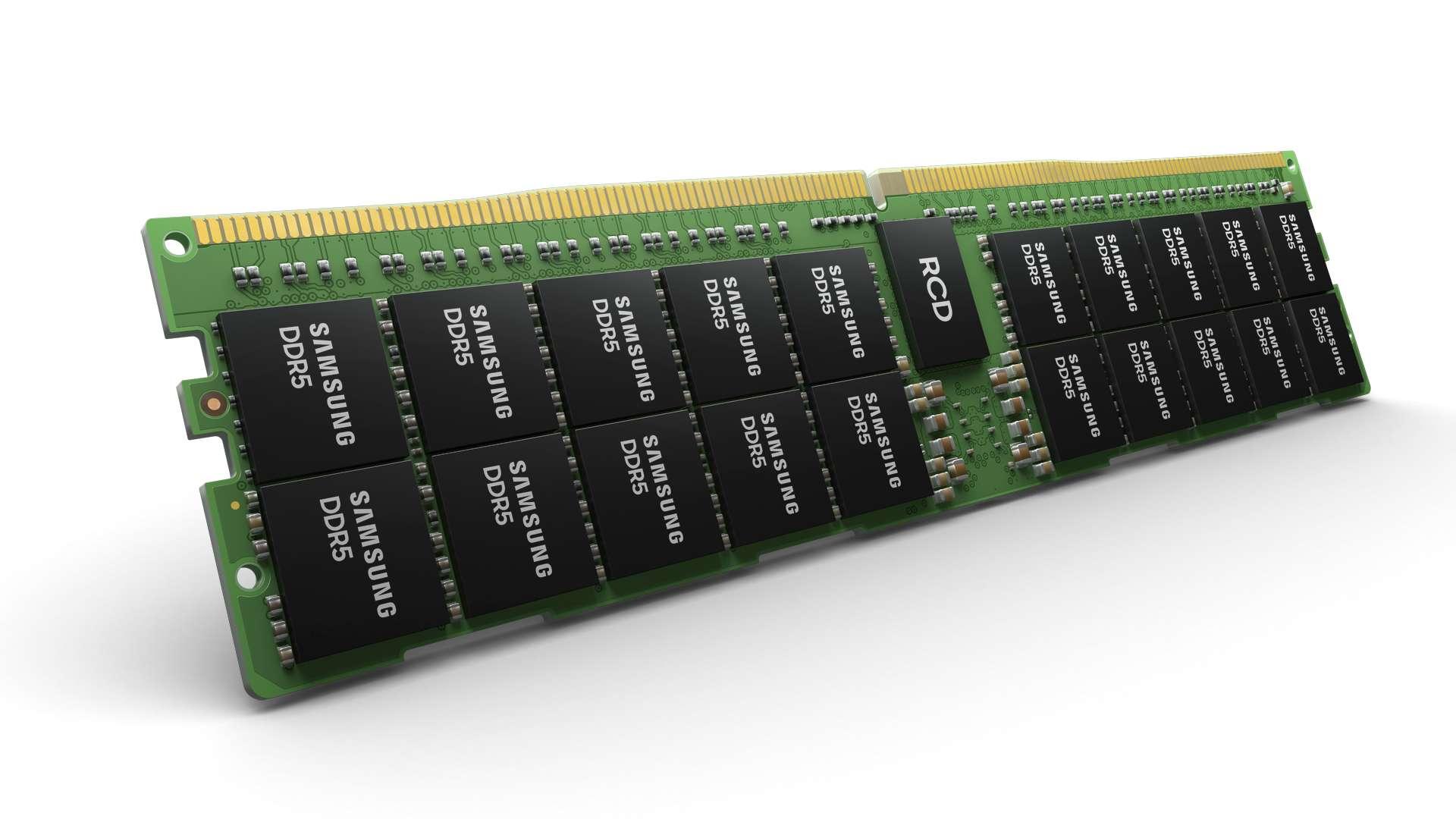 DDR5 RAM module from Samsung has mammoth 512GB capacity