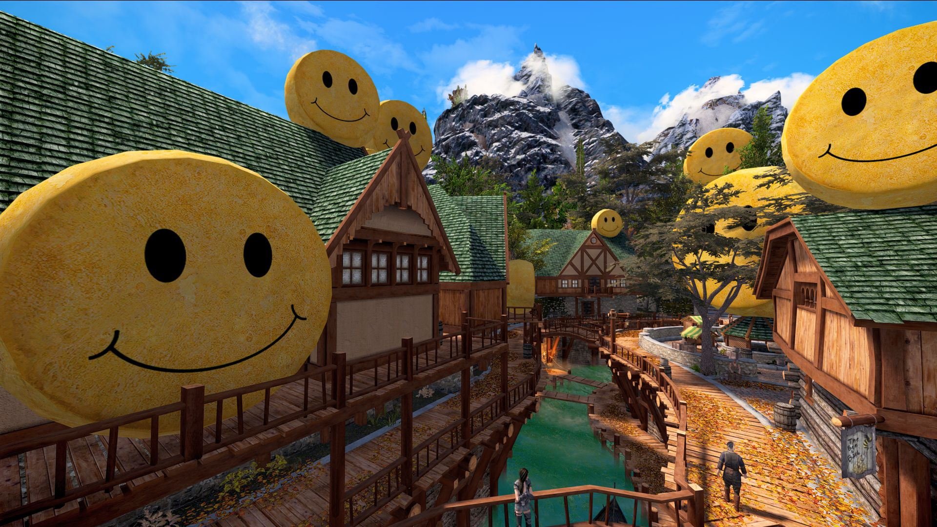 """Skyrim modder accidentally makes Riften a """"city of cheese"""", releases mod anyway"""