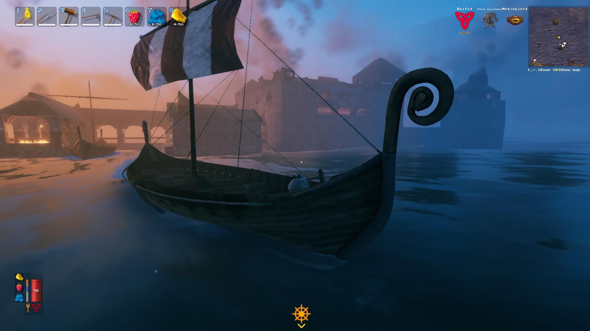 Valheim's disappearing boats aren't being stolen by birds, devs confirm