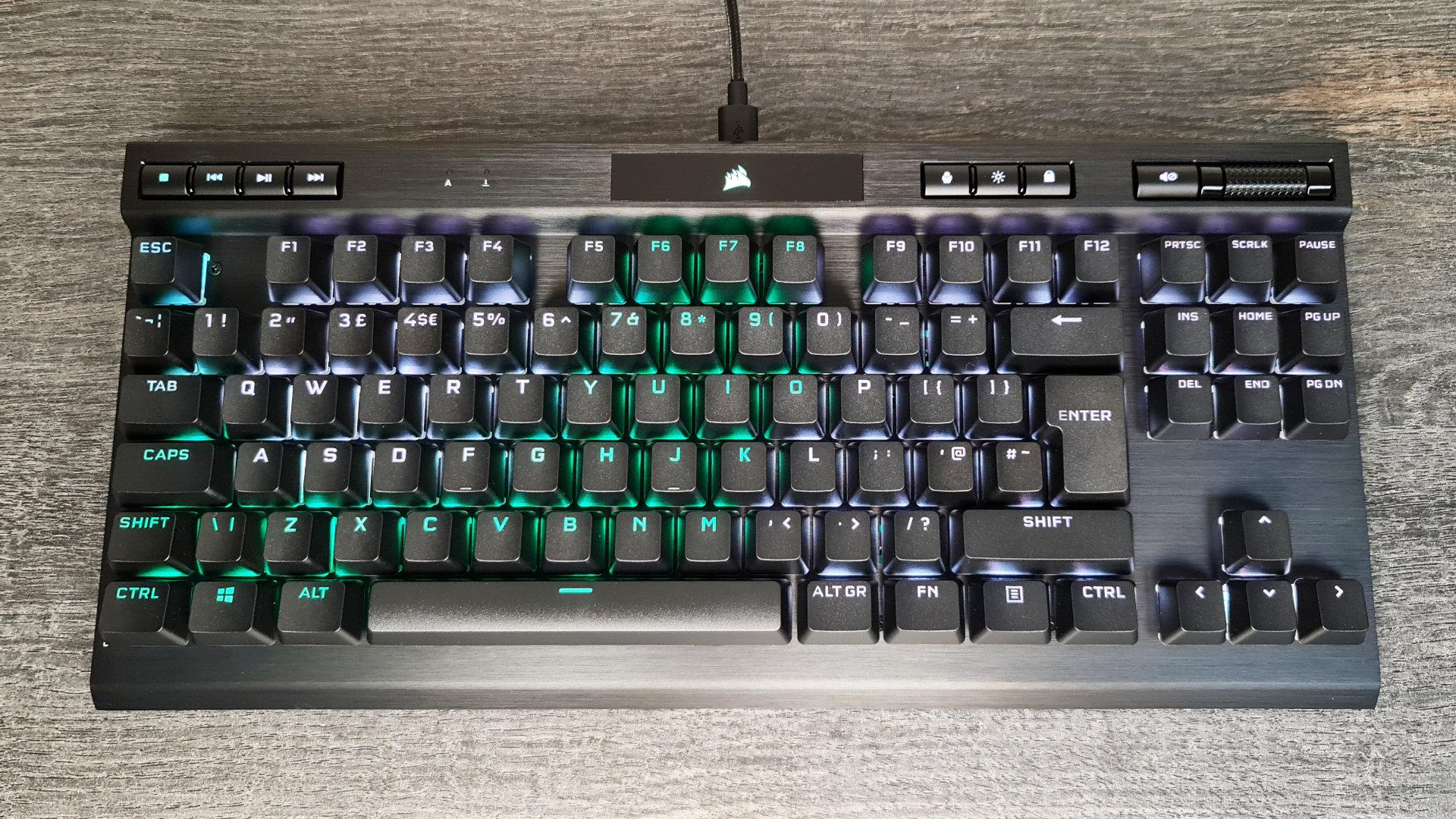 Corsair K70 TKL review – the top gaming keyboard sheds its numpad