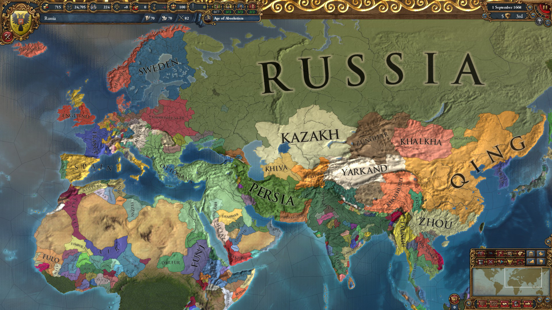 """EU4's director would change """"a lot of things"""" about all the strategy game's DLC"""