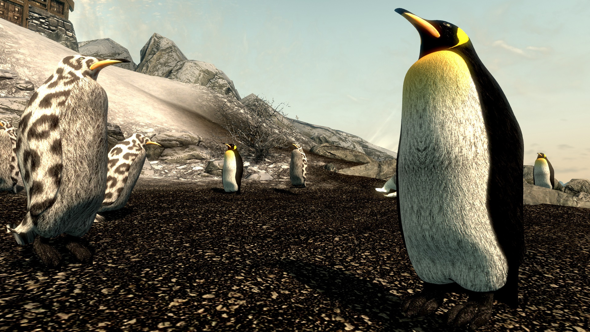 Fill Skyrim with penguins using this mod