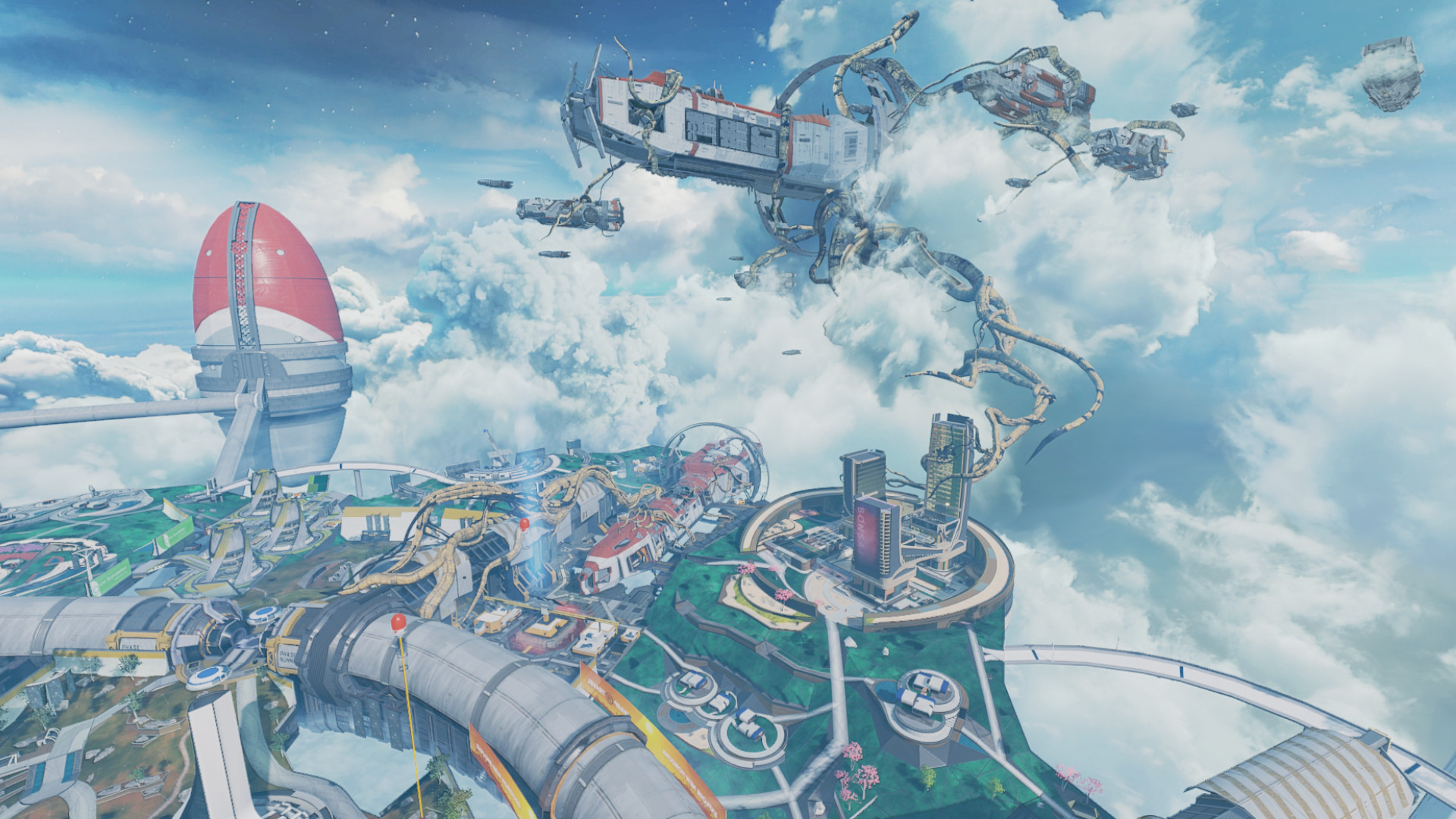 Apex Legends' Olympus map update adds one new POI and removes two balloons