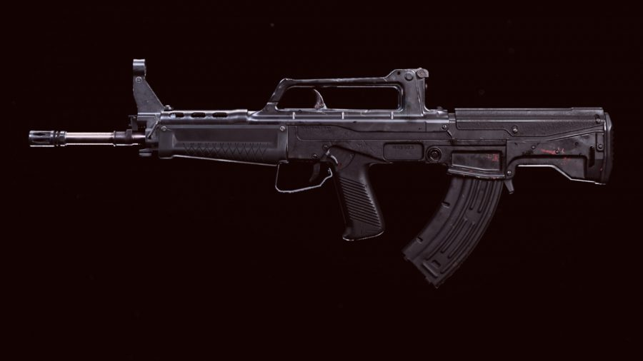 The QBZ-83 in Call of Duty Warzone's preview menu