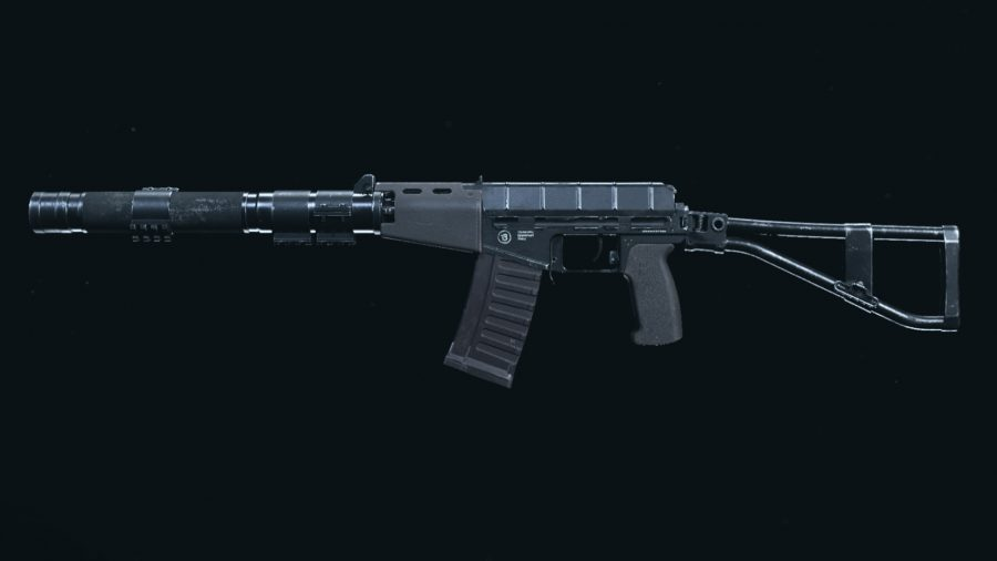 The AS VAL assault rifle in Call of Duty Warzone