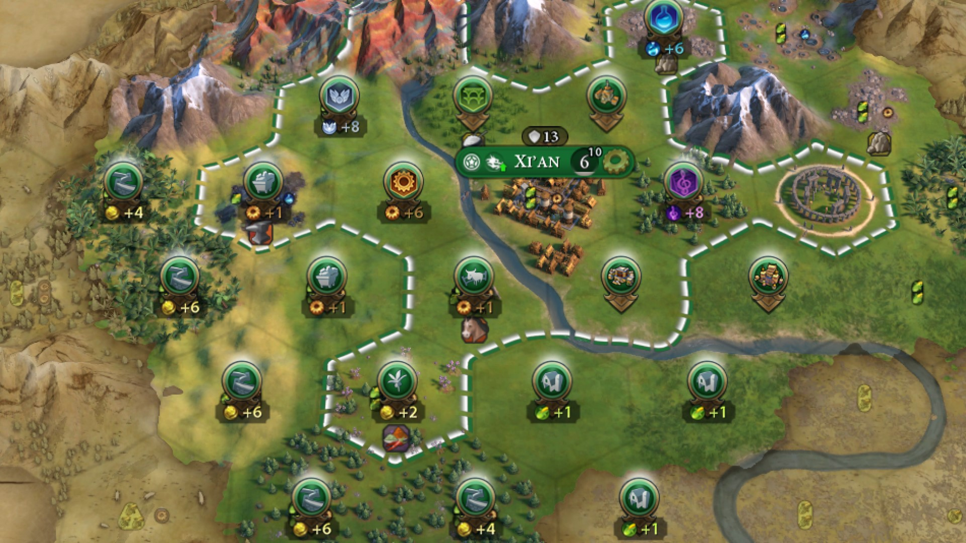 These handy map tacks for Civilization 6 help you plan your districts
