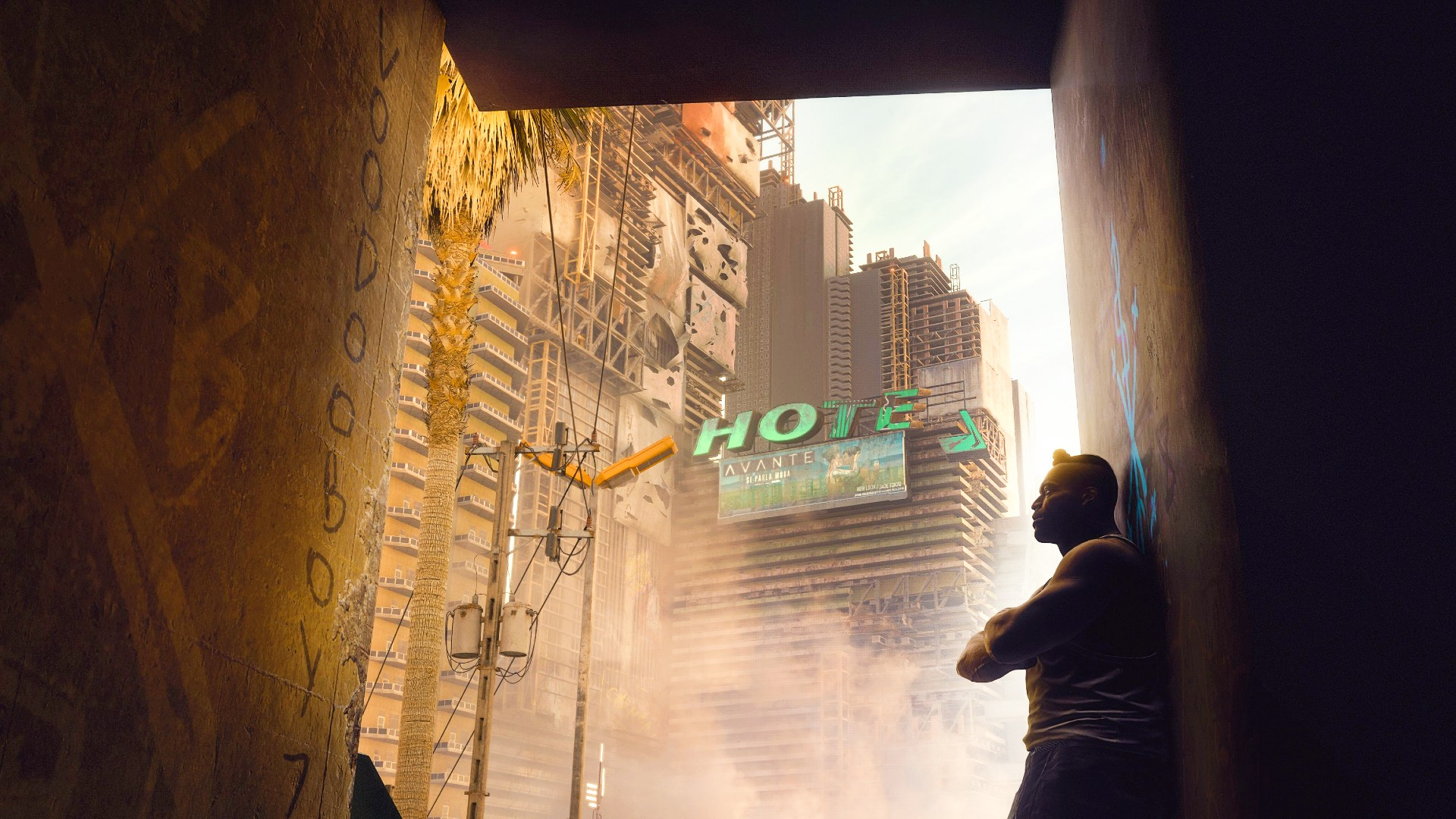 Cyberpunk 2077 is getting wall-running after all, thanks to one modder