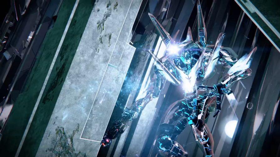 Atheon, the final boss, in Destiny's Vault of Glass raid