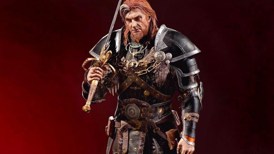 Diablo 2 Resurrected warrior