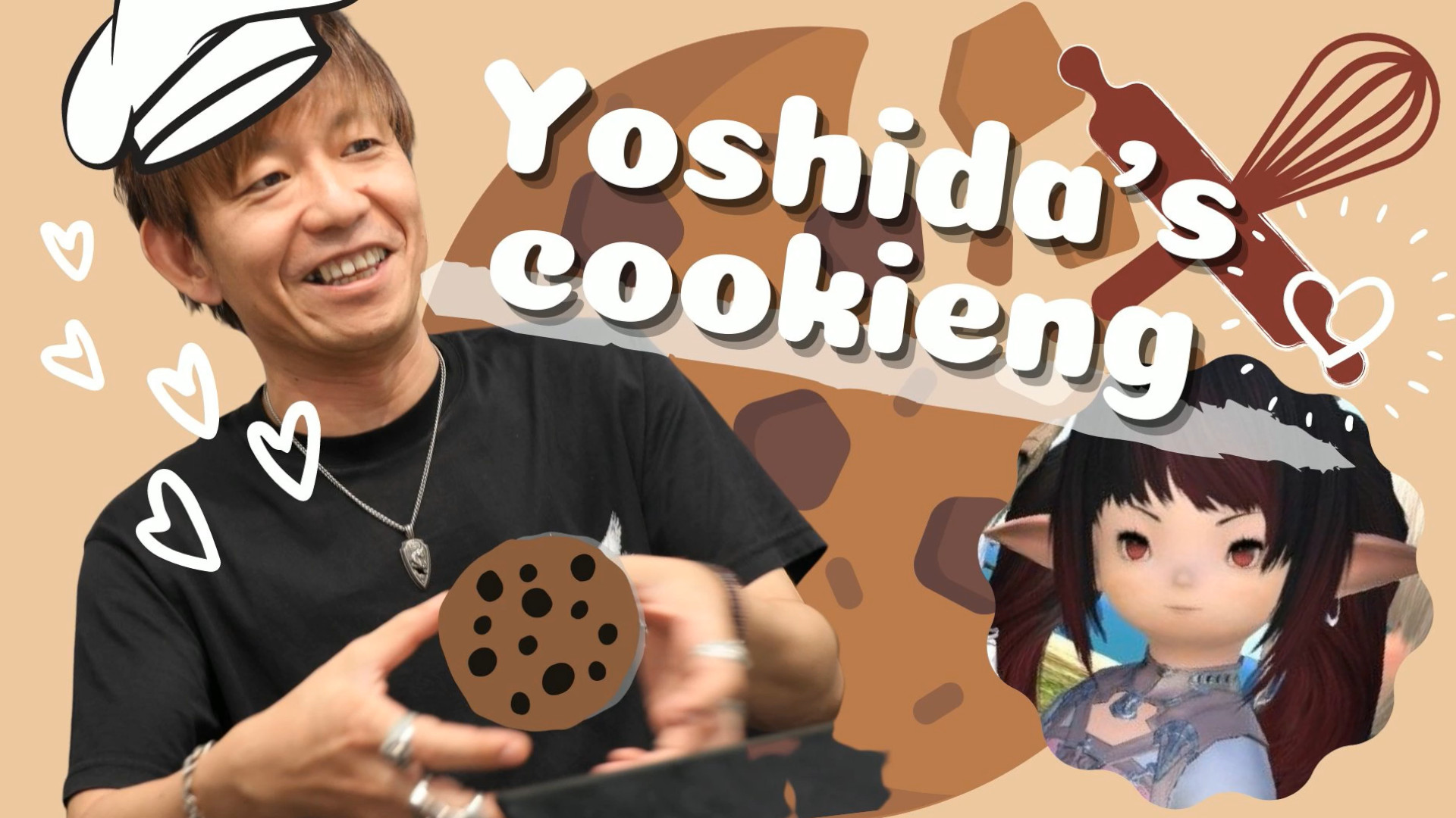 FFXIV director hits Twitch to share his coffee cookie recipe and drink wine