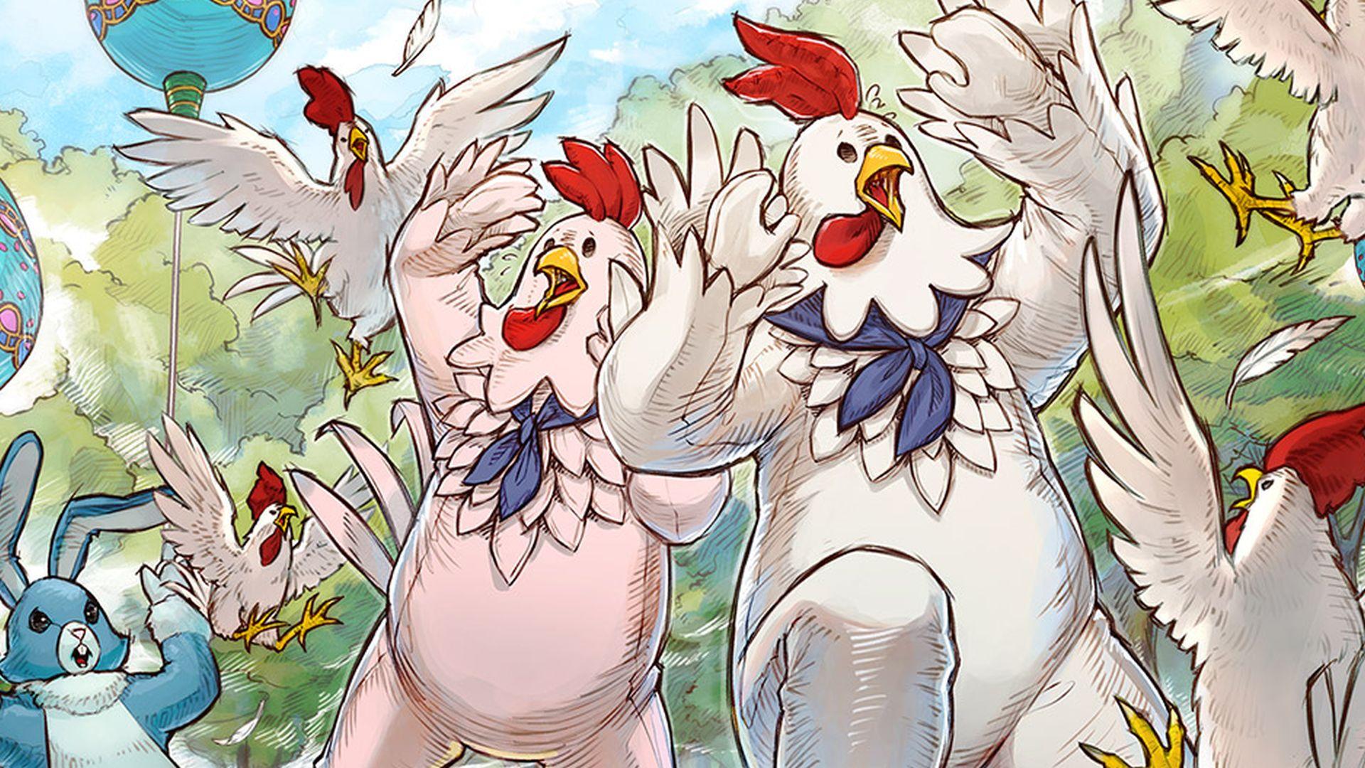 Final Fantasy 14's Hatching-tide 2021 event kicks off next week