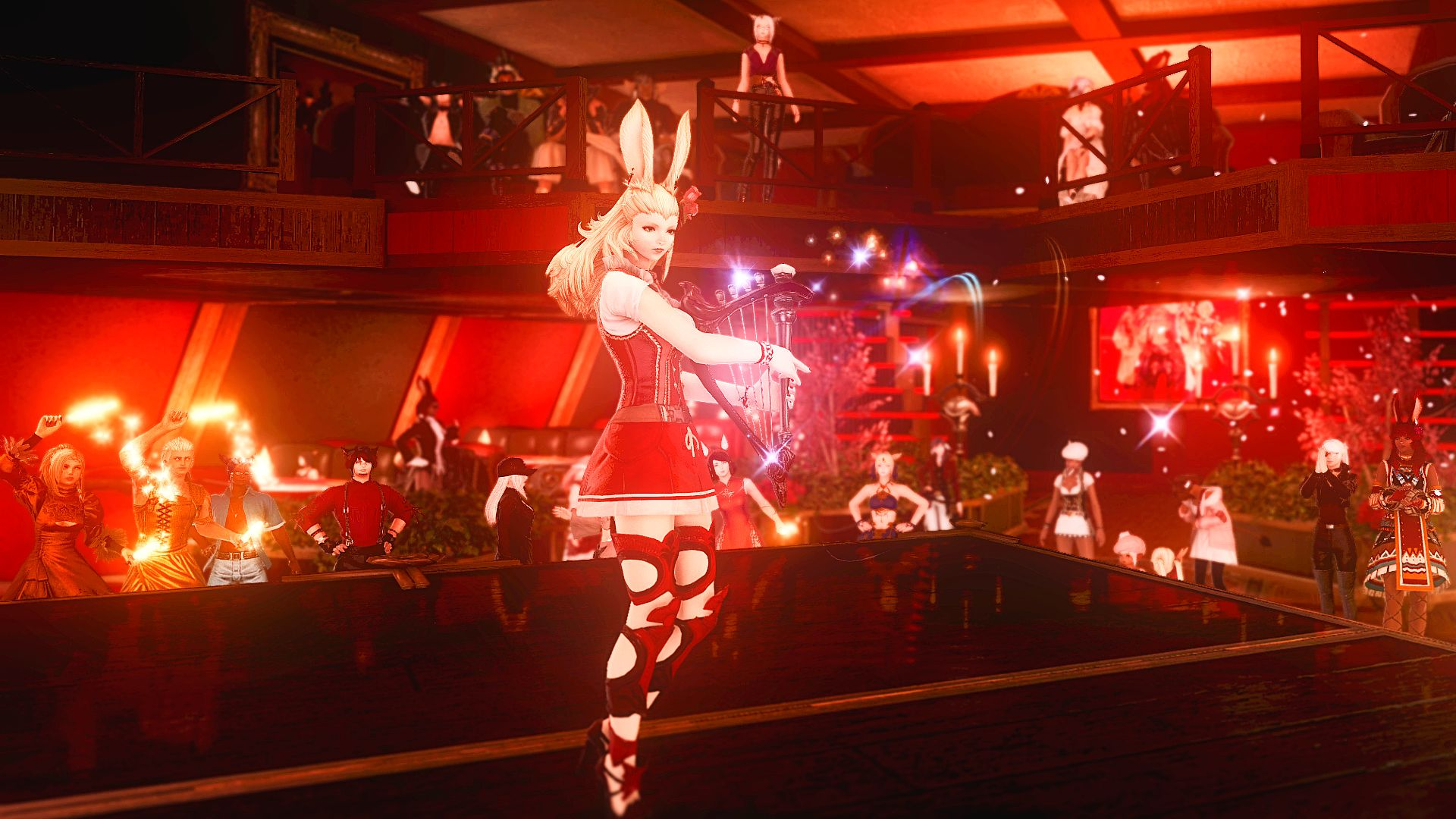 How Final Fantasy XIV kept us clubbing through lockdown