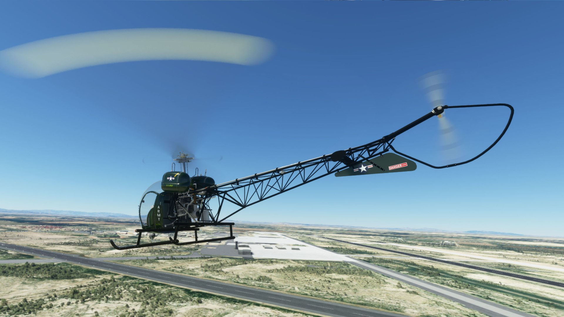 Flight Simulator now has a working helicopter add-on