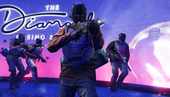 GTA Online players take to the Casino heist