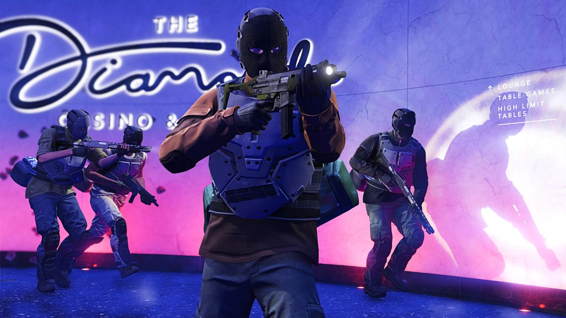 GTA Online's weekly update brings diamonds back to the Casino heist